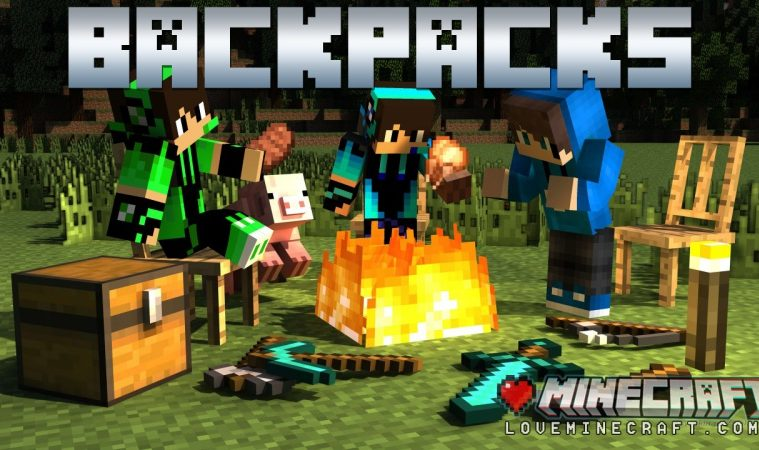 BACKPACKS mod 1.14.2